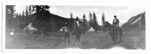Little Squaw Camp, AJ and Margaret Galloway